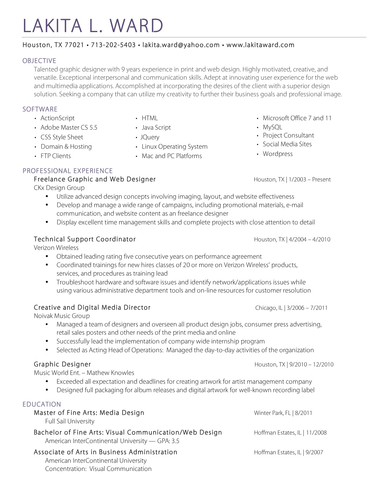 Awesome Fine Art Resume Ideas Entry Level Resume Templates